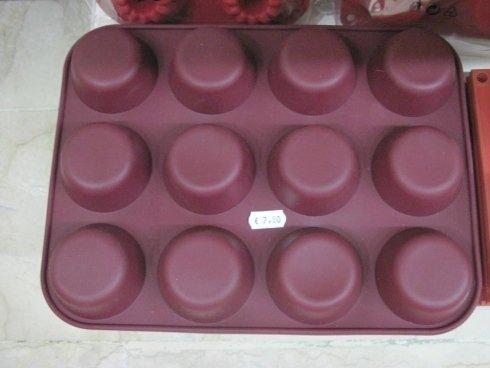 Stampo in silicone muffin
