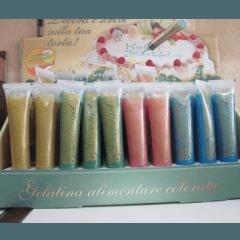 Gelatina alimentare colorata, rivenditore Gelatina alimentare colorata