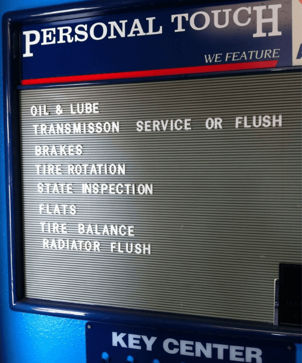 Personal touch services board