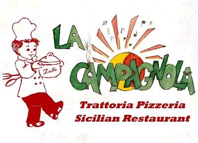 LA CAMPAGNOLA - PIZZERIA - TRATTORIA - SICILIAN RESTAURANT-Logo
