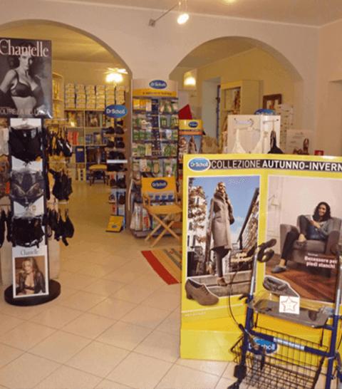 negozio di calzature per ortopedia