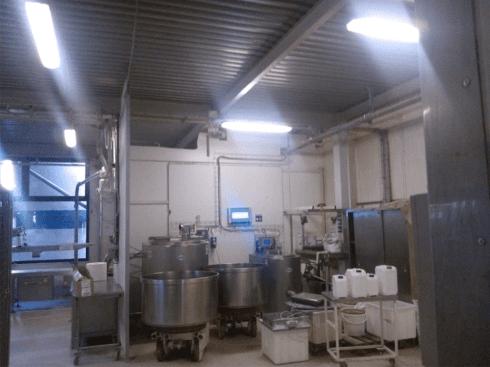 impianto led azienda