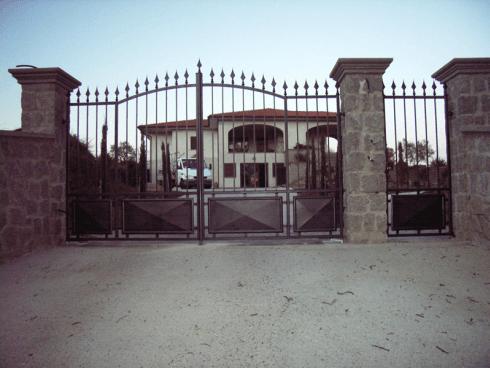 Cancello in Ferro Battuto, Montefiscone (VT)