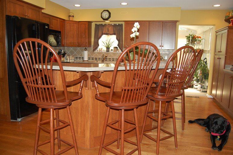 Kitchen design and remodeling work