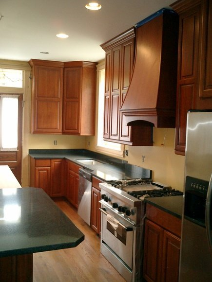Kitchen design and remodeling project