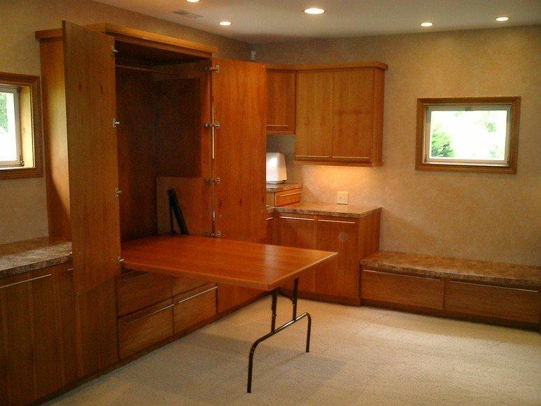 Kitchen remodeling work