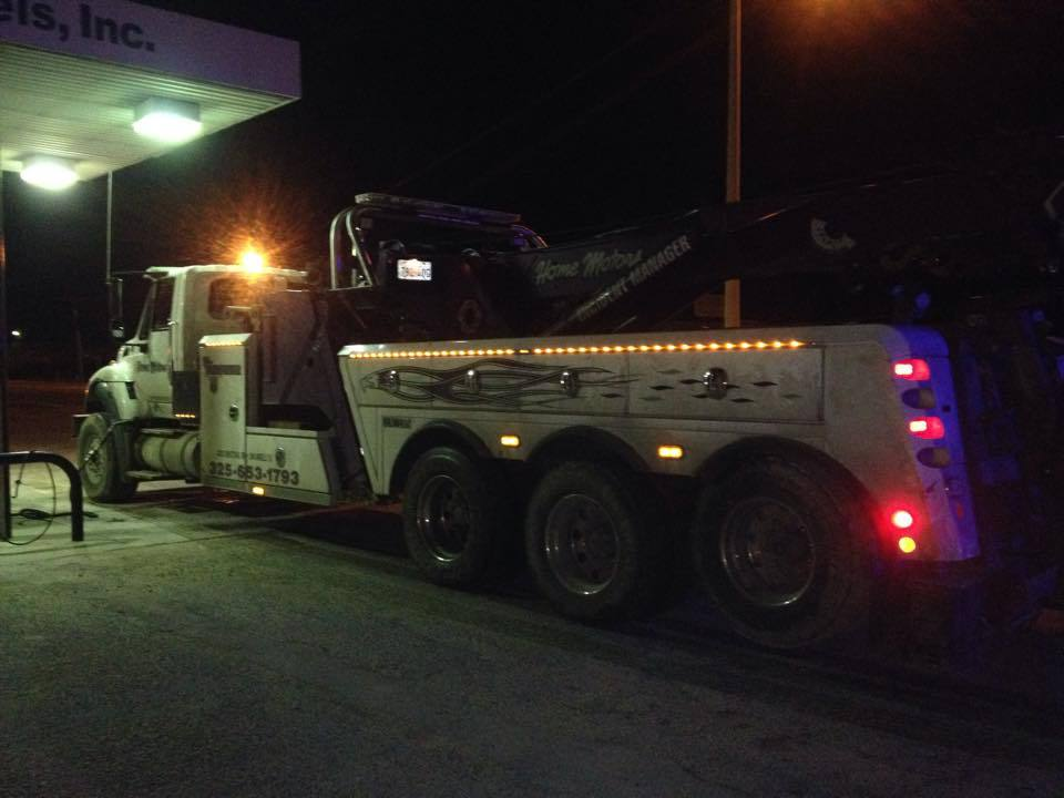 Tow Truck Service San Angelo, TX