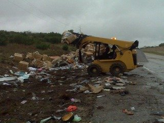 Roadside assistance and cleanup in Winters, TX