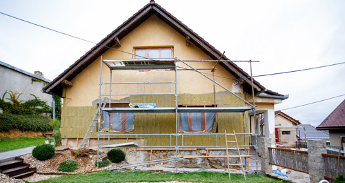 House after water damage restoration in Pagosa Springs, CO