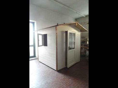 Realizzazione casina in legno su misura