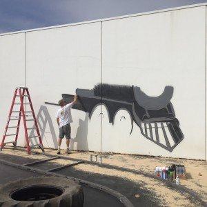 hunter street painting train