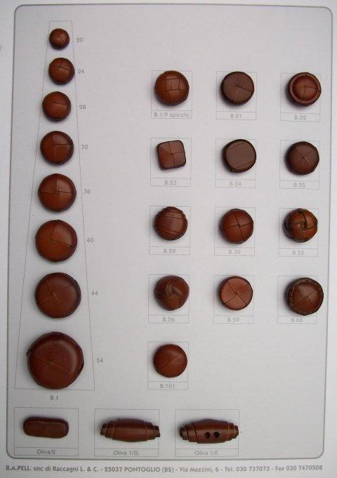 1 shank buttons