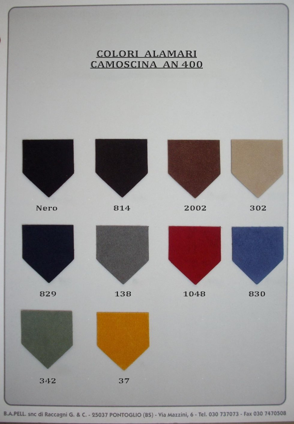 Colori An 400