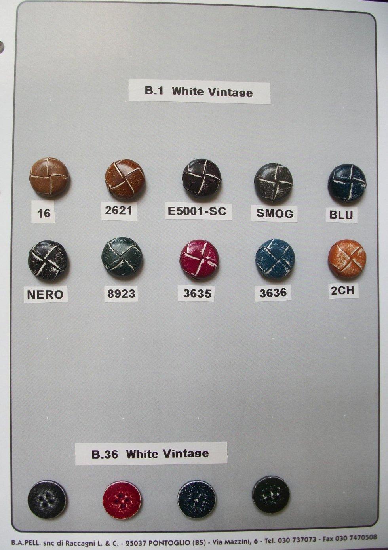 Bottoni White Vintage