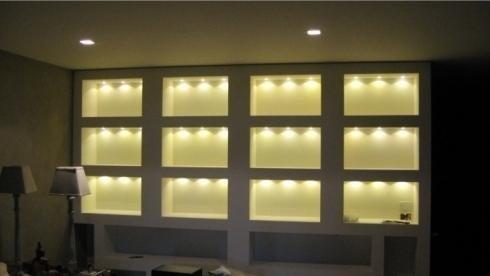 illuminazione vetrine