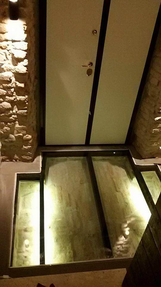 esempio di vetro blindato