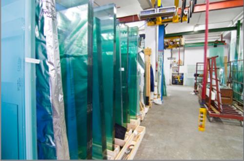 laboratorio di lavorazione vetro