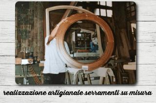 Realizzazione artigianale serramenti su misura