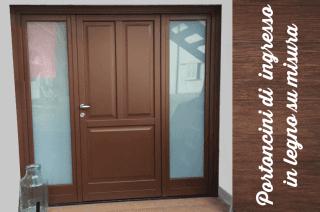 Portoncini di ingresso il legno massello