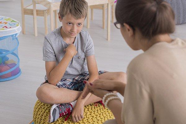 Bambino in visita presso DOTT.SSA CASCIONE SARA Bari