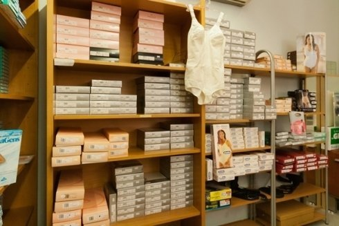 vendita corsetteria ortopedica
