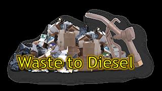 Waste to Diesel Button