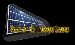 Solar & Inverters Button