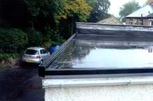 Single play new flat roof - Consett, County Durham - First Class Roofing - Roofing