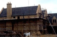 New build roof - Consett, County Durham - First Class Roofing - Roof specialist