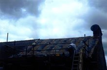 Slate roof - Consett, County Durham - First Class Roofing - Tile roof