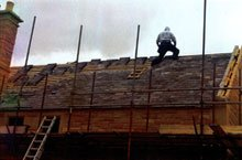 Roof lead work - Consett, County Durham - First Class Roofing - Slate roof