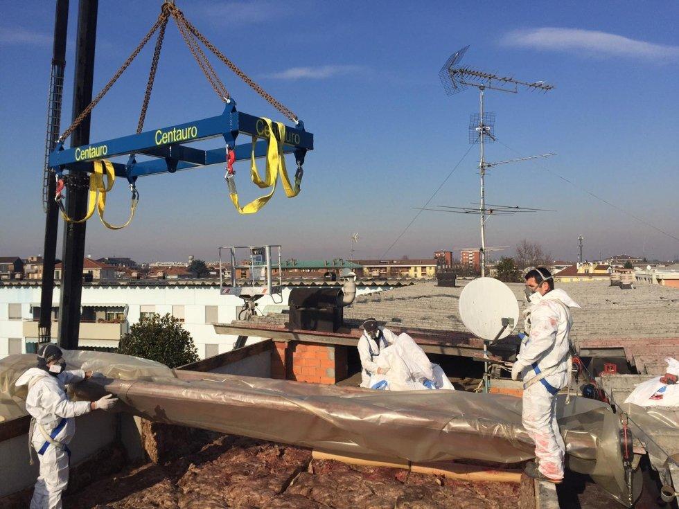 rimozione smaltimento amianto Novara e provincia