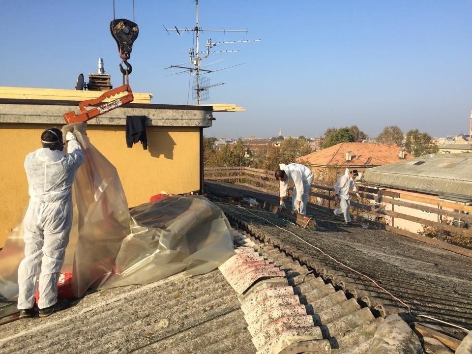 rimozione amianto Novara