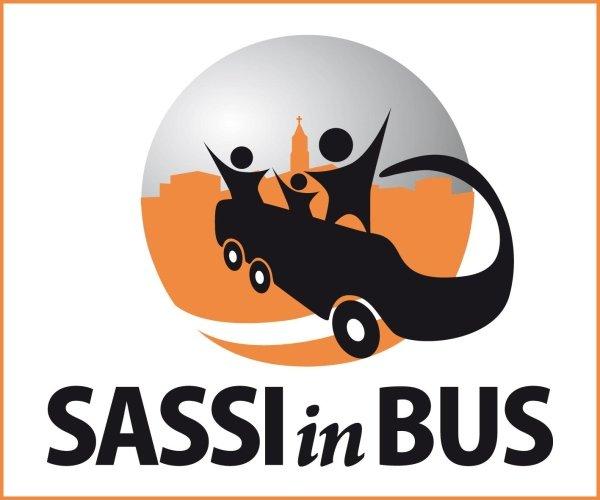 Sassi in bus