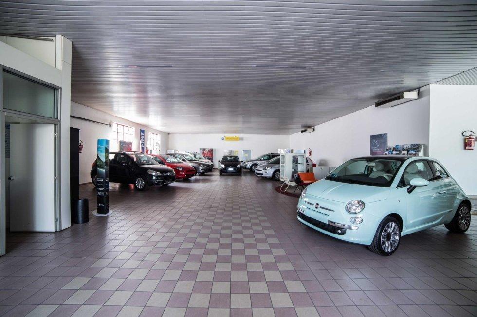 Esposizione macchine Fiat