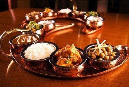 menu indiano