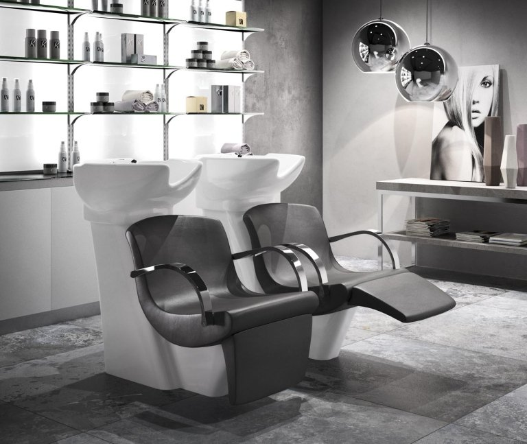 Arredi per parrucchieri e centri estetici milano fremis for Arredamento parrucchieri milano