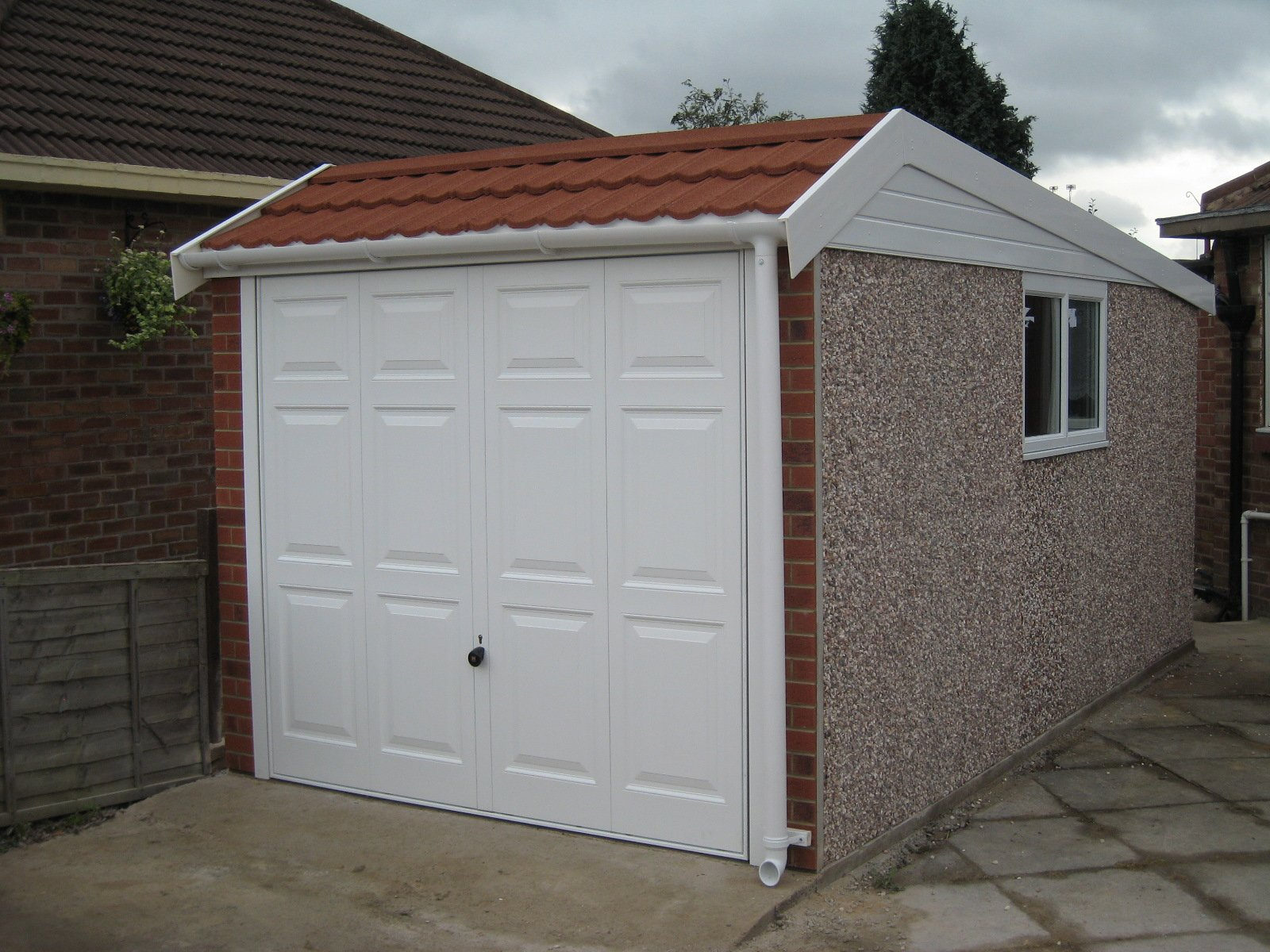 Flat Roof Garage Fitting In Pudsey