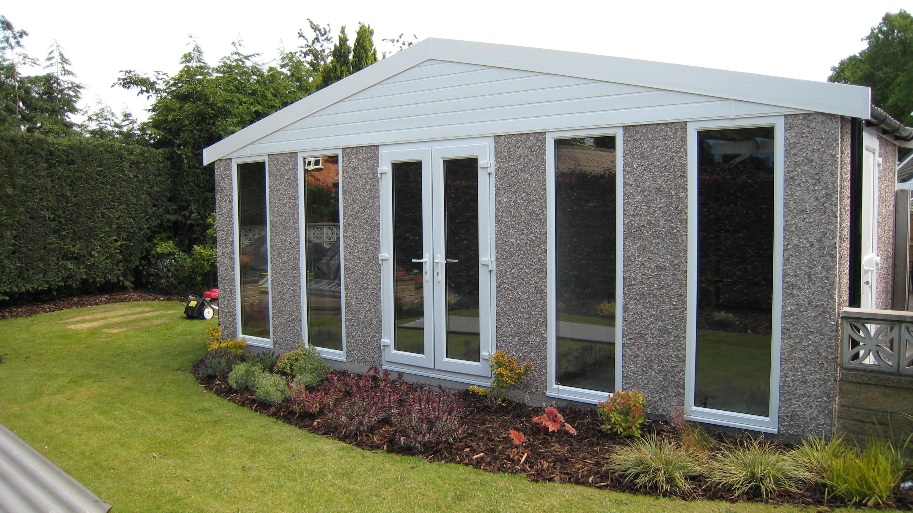 Garden Room - Garage