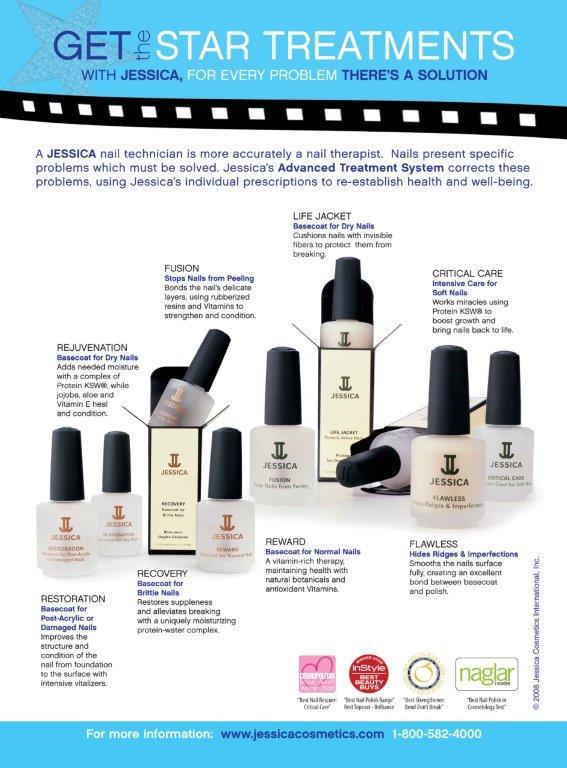jessica nail polish poster