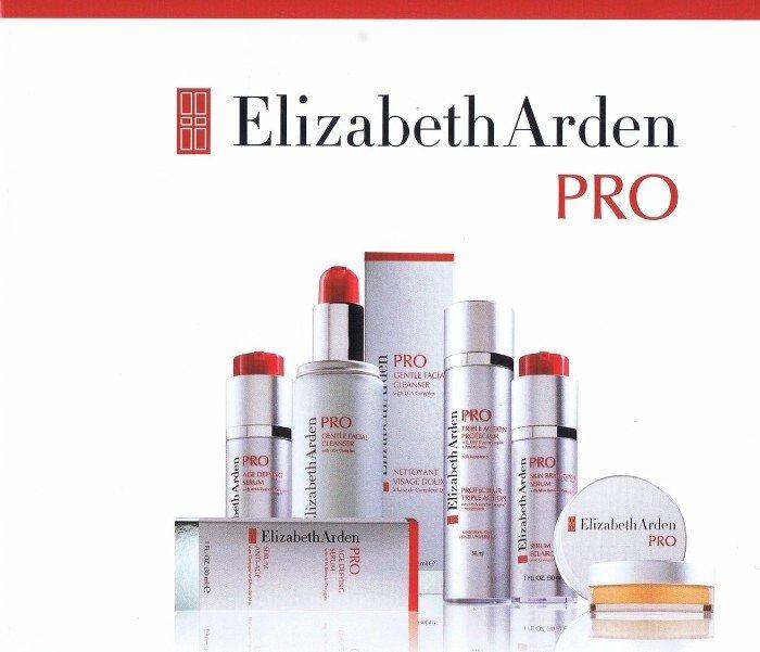 Elizabeth Arden Pro poster advertisement