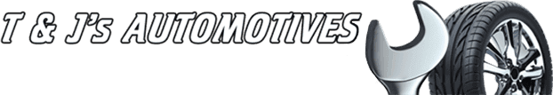 t & j's automotives logo