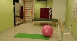 interno dello studio fisioterapico