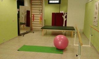 sala esercizi dello studio