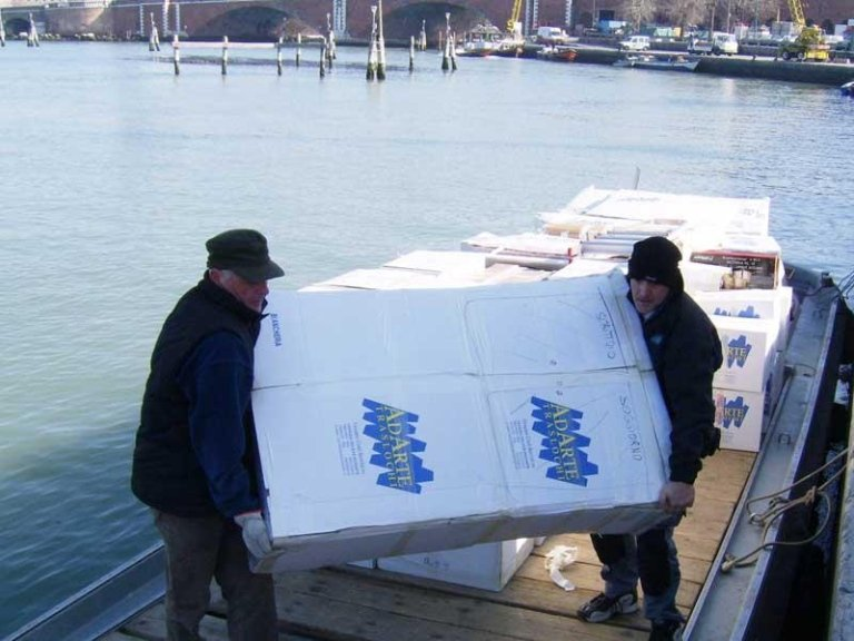 Removals in Venice and Mestre