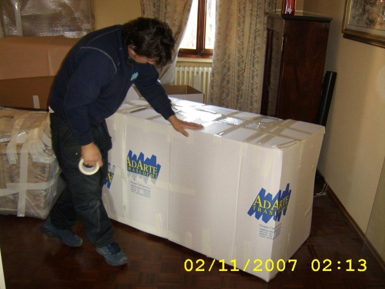 Removals in Montebelluna