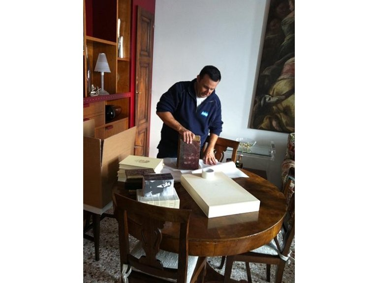 Office and business removals Mestre Venice