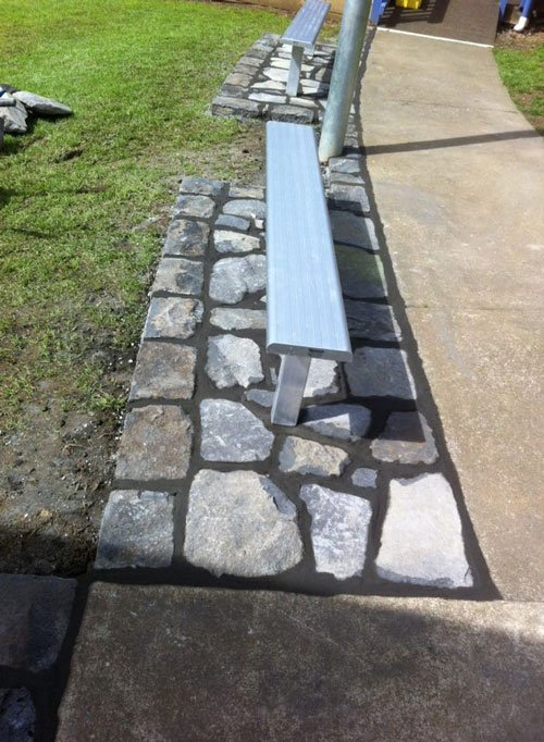 Stone work done by professionals
