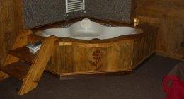 Copertura vasche da bagno in legno