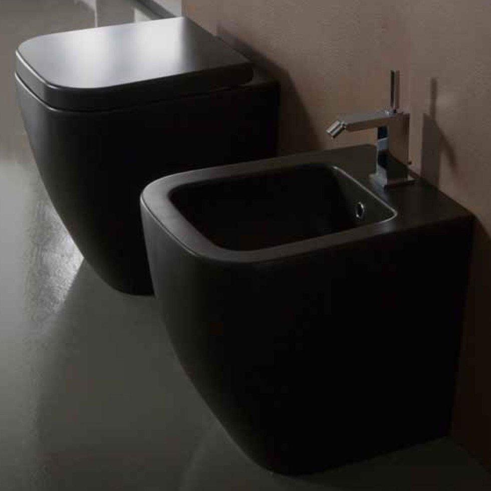 Sanitari Nero Ceramica Prezzi.Sanitari Bagno Nero Prezzi Comarg Com